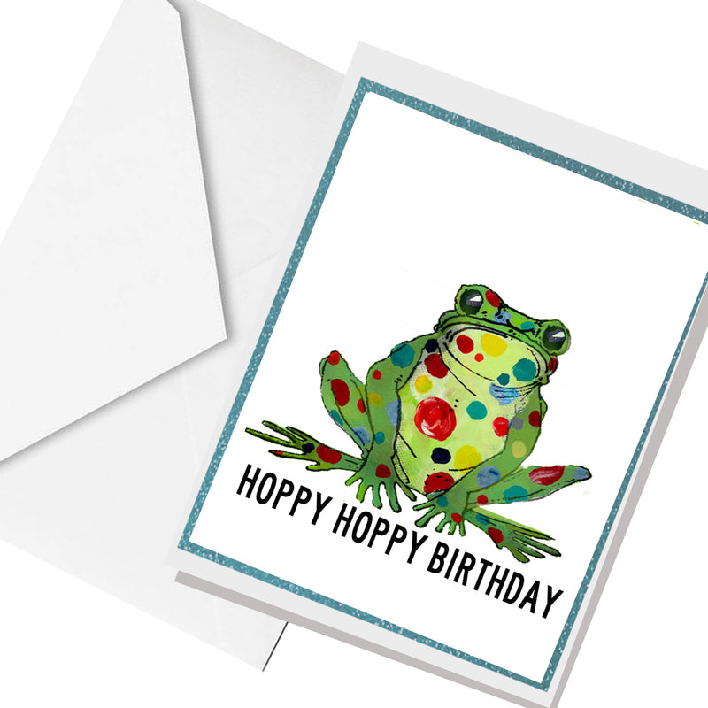 hoppy birthday... greeting card