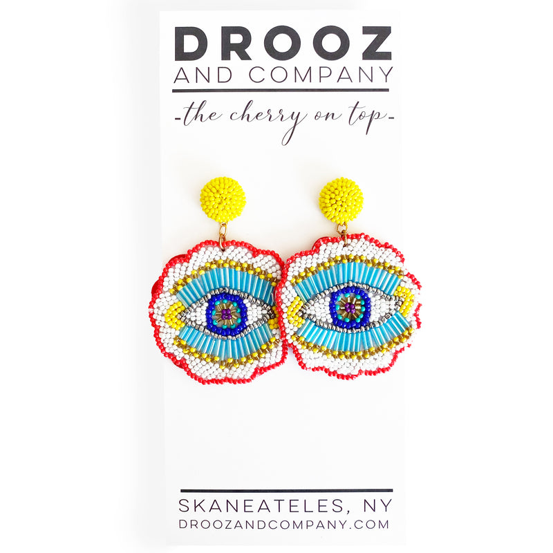 Summer Eyes Earring- the cherry on top