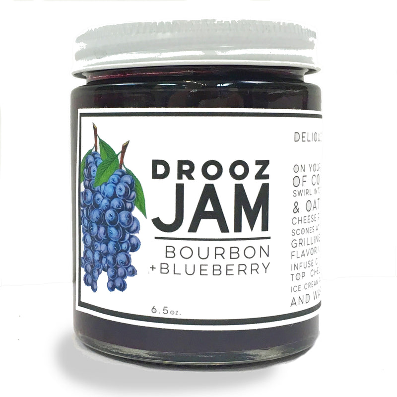 Bourbon + blueberry JAM