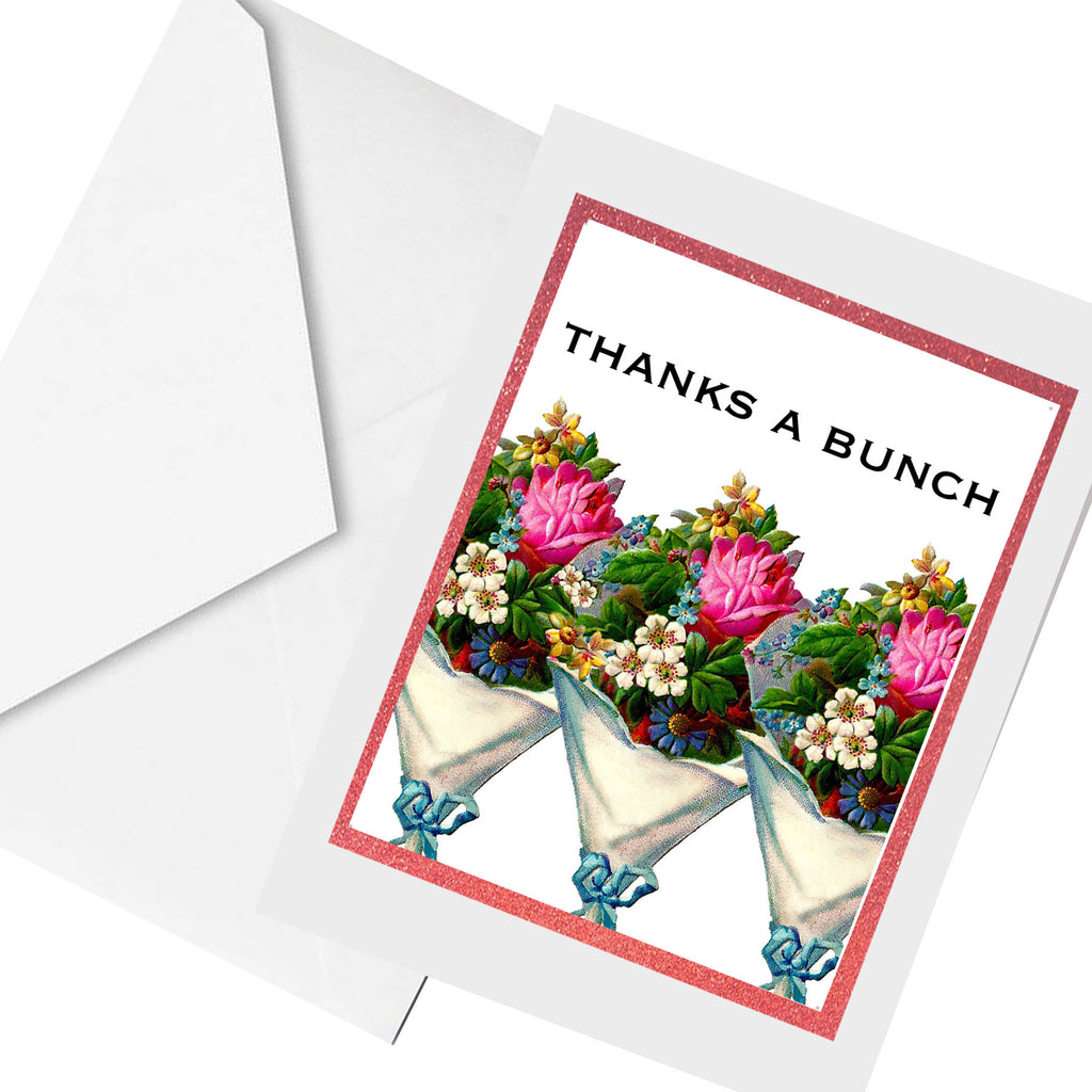 thanks a bunch... greeting card