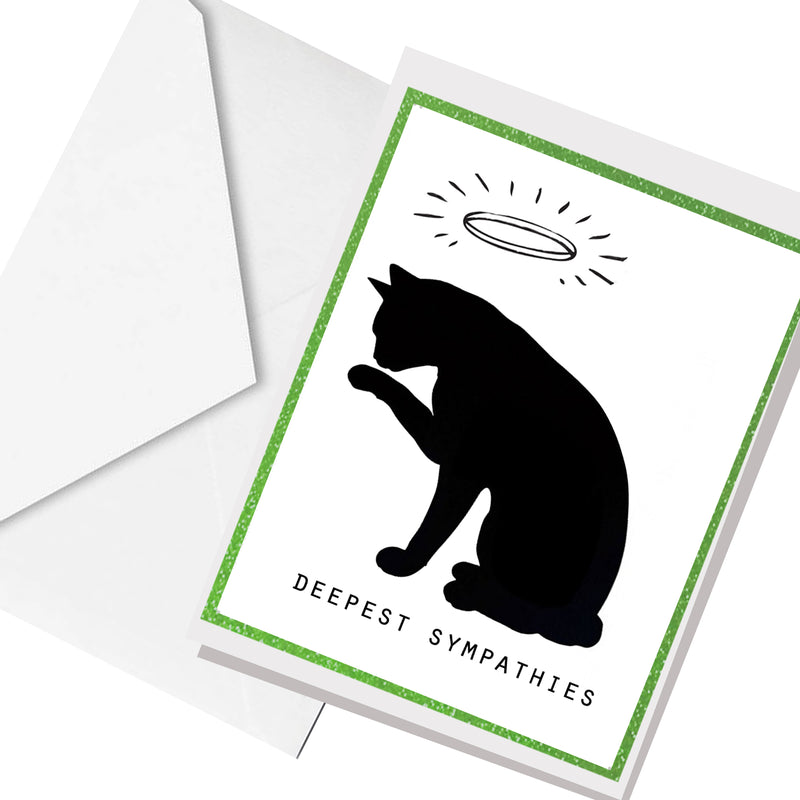 cat sympathy  ... greeting card