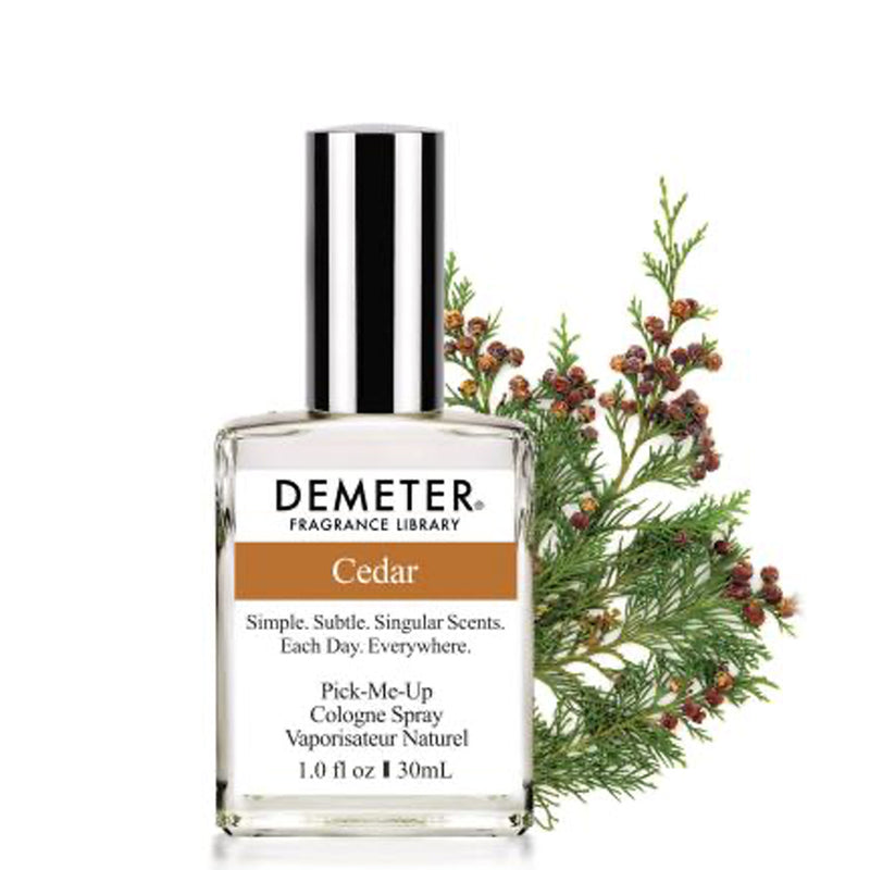 cedar Cologne Spray: Demeter