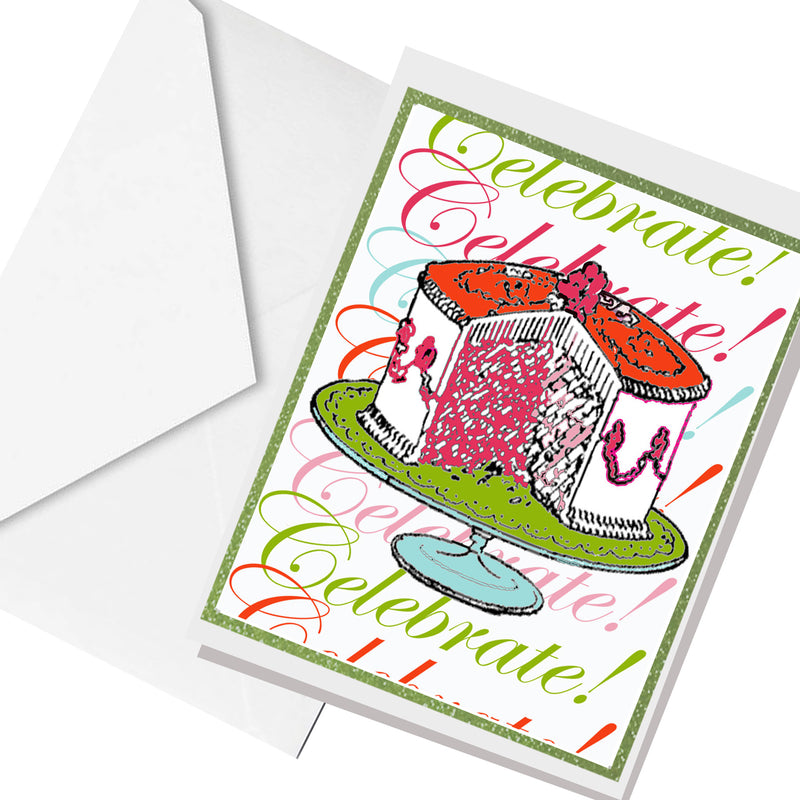 celebrate.. greeting card