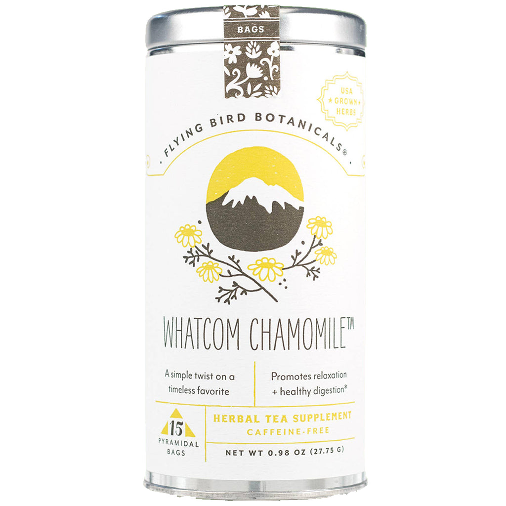 Whatcom Chamomile Tea Bags