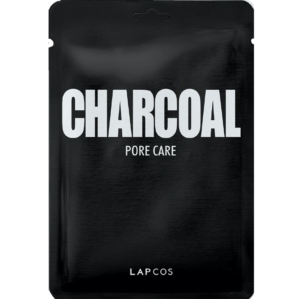 charcoal mask: LAPCOS daily skin mask
