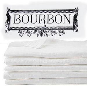 BOURBON: flour sack towel