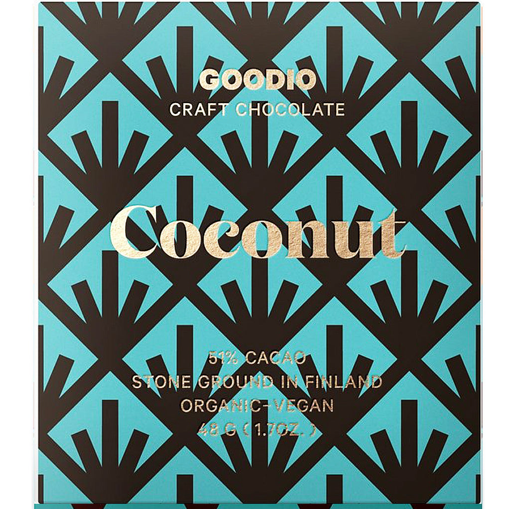 coconut: Goodio Chocolate Bar