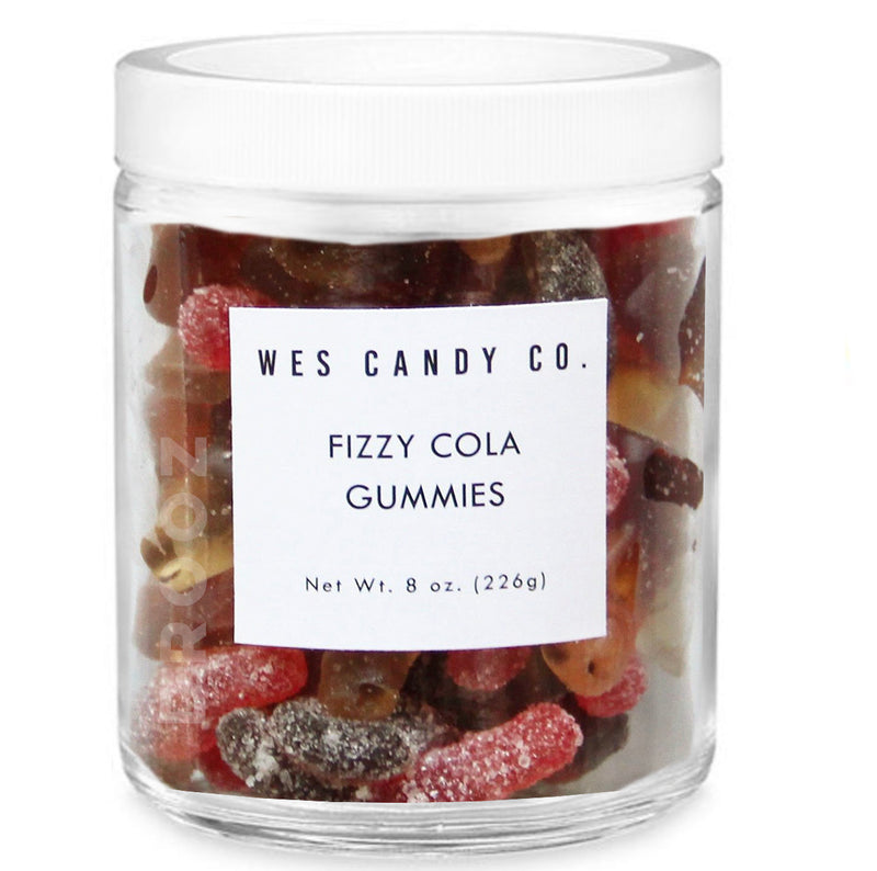 fizzy cola gummy bears
