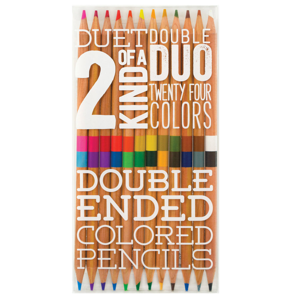 DOUBLE SIDED COLORED PENCILS