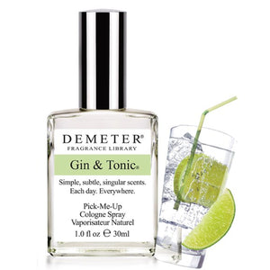 Gin & Tonic Cologne Spray: Demeter