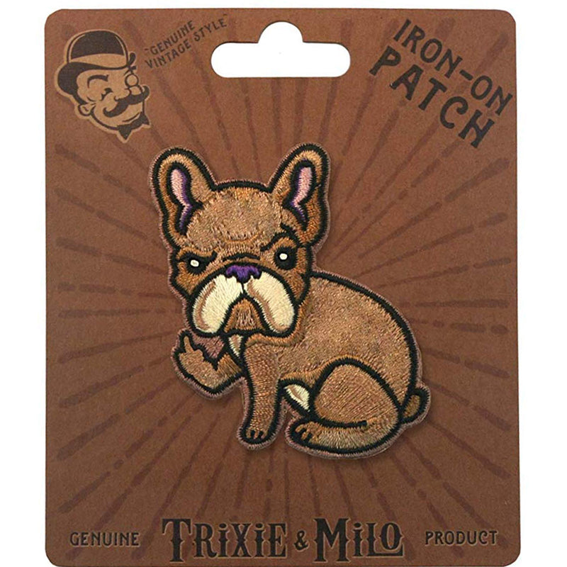 rude frenchie patch