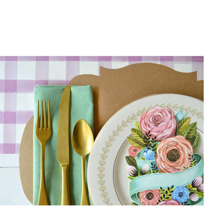 spring floral:  table accent