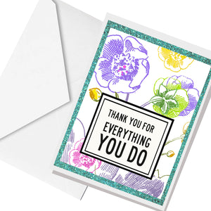 everything you do... greeting card