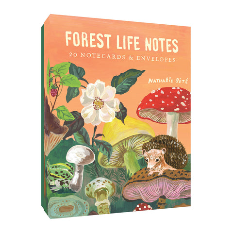 Forest Friends notecards