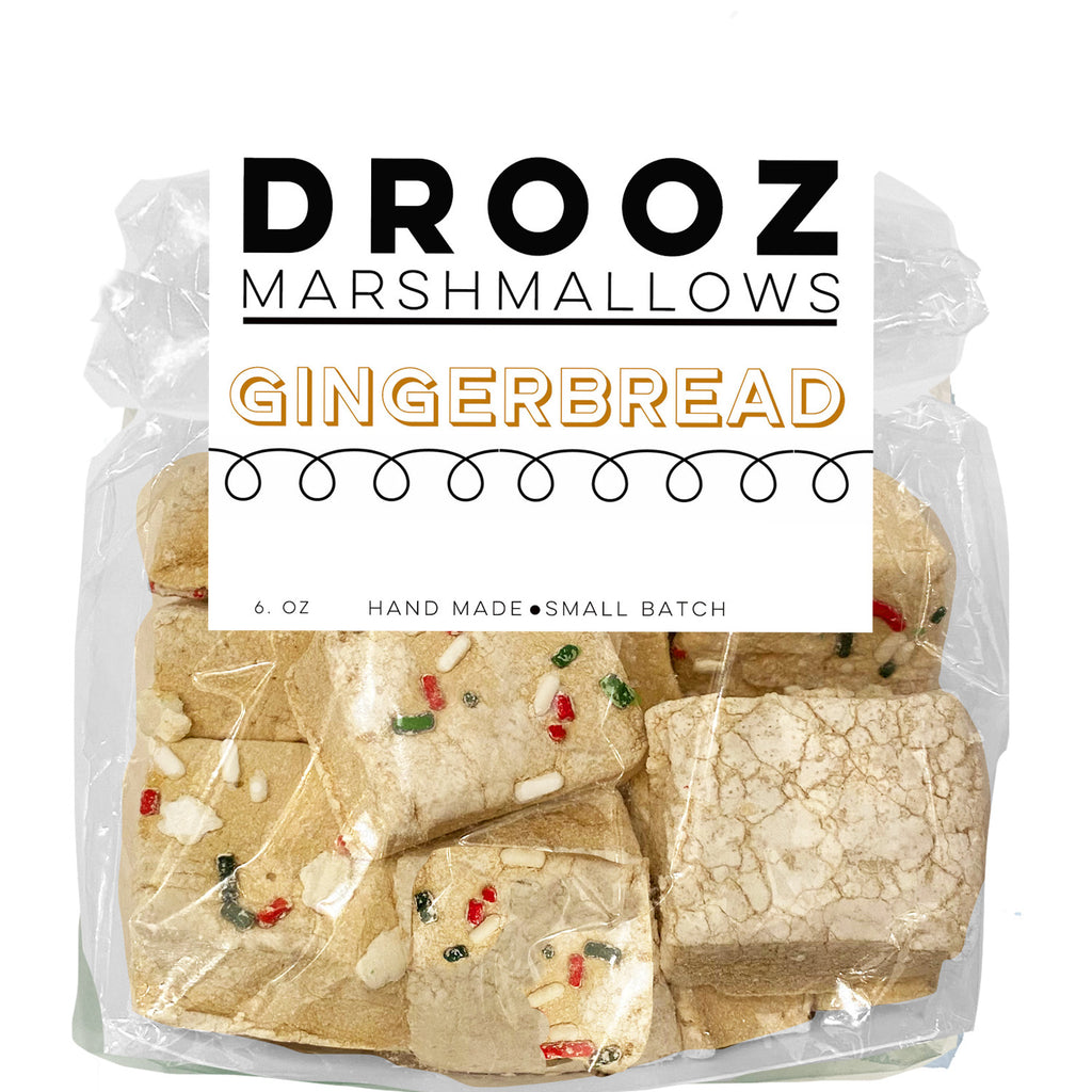 Gingerbread marshmallows: DROOZ