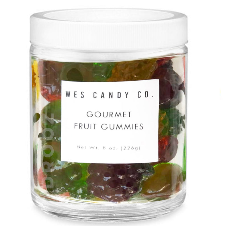 gourmet fruit gummies
