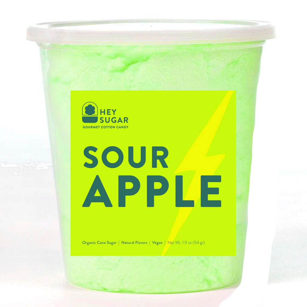 Sour Apple Cotton Candy