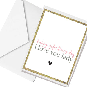galentine's day ... greeting card