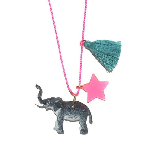 Gunner & Lux Elle the Elephant Necklace