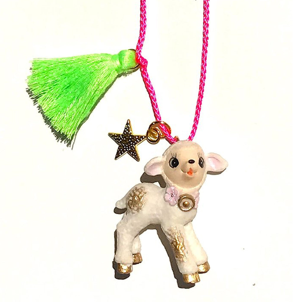 Gunner & Lux La La Lamb Necklace