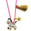 Gunner & Lux: Zoe Zebra Necklace