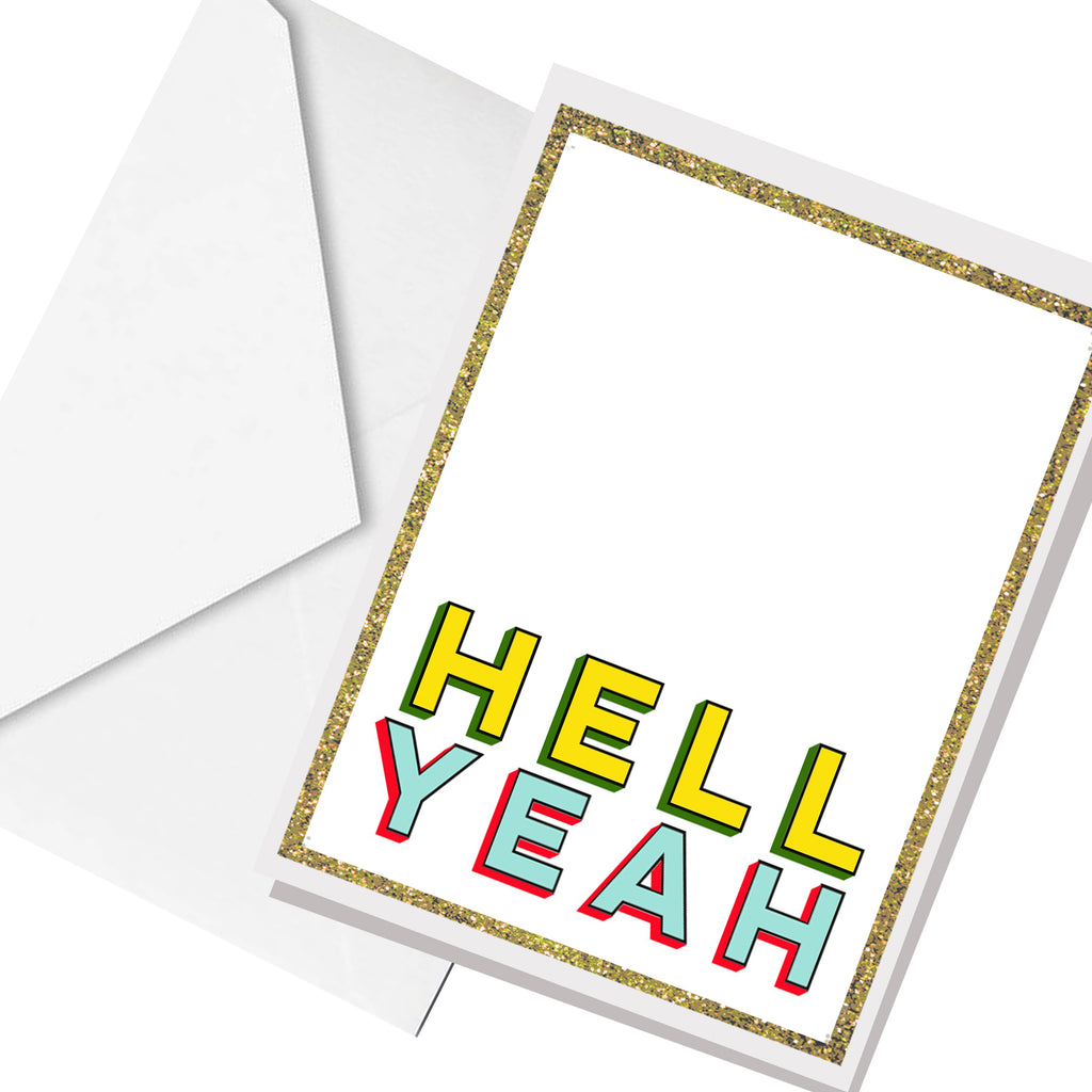 hell yeah... greeting card