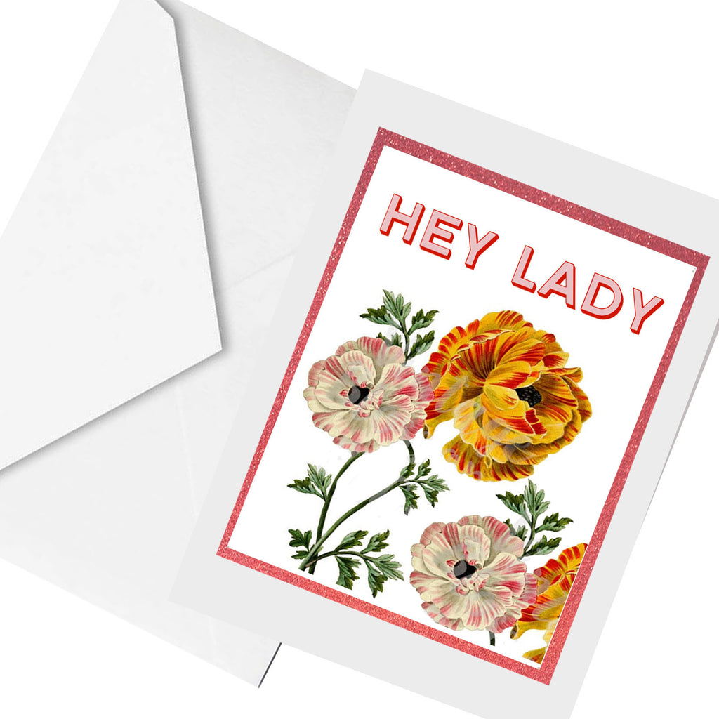 hey lady... greeting card