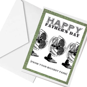 from your biggest FANS  ... greeting card
