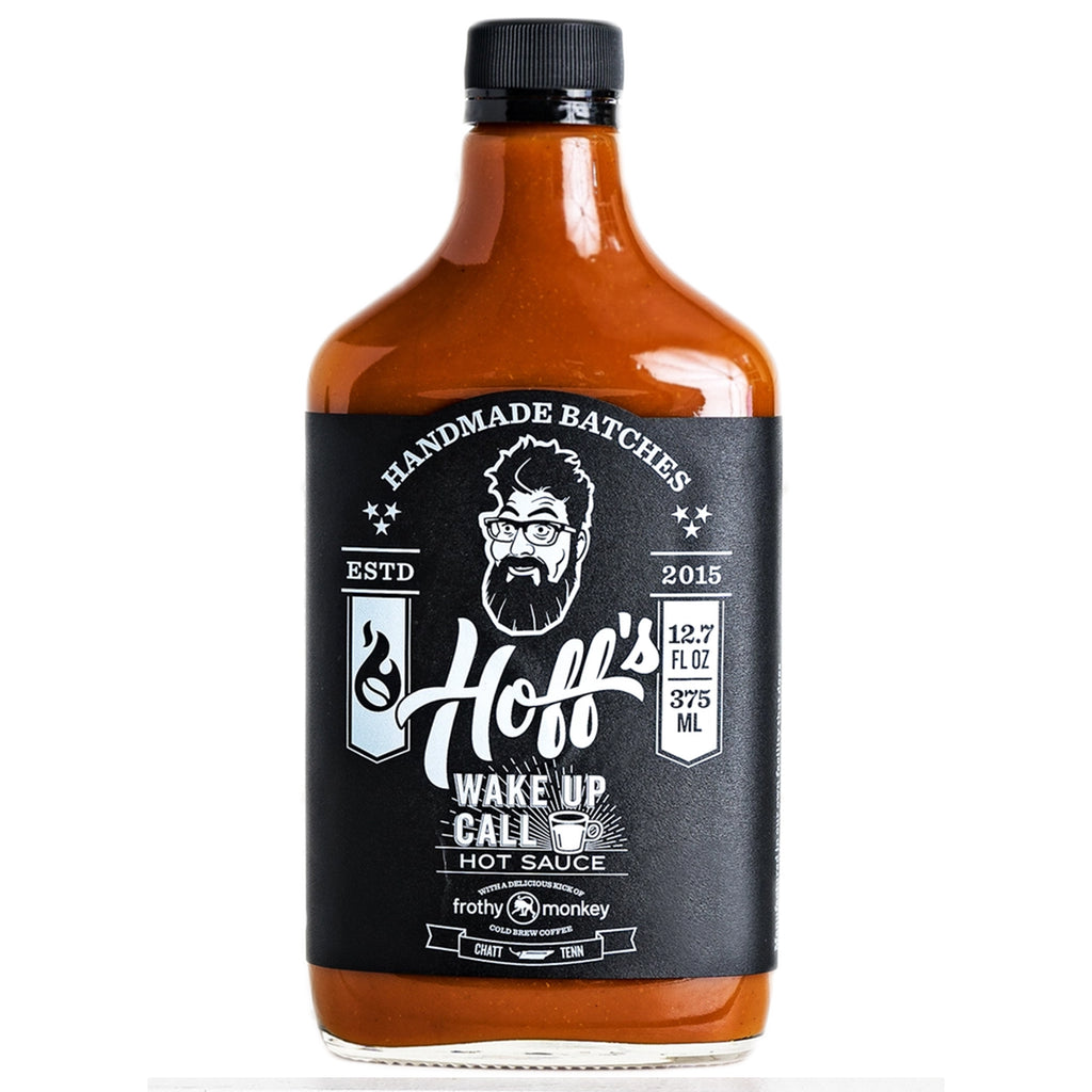 Wake Up Call - Hoff's Sweet/Spicy Hot Sauce w/ Coffee - 12oz