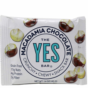 macadamia cherry chocolate: YES Bar