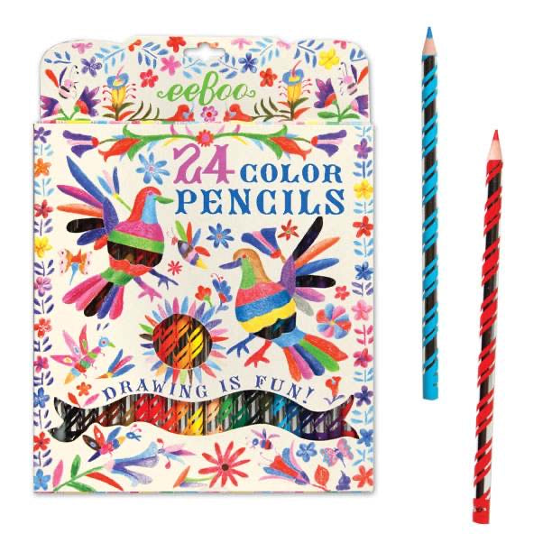 Colored Pencil 24 Pack (paper pack)