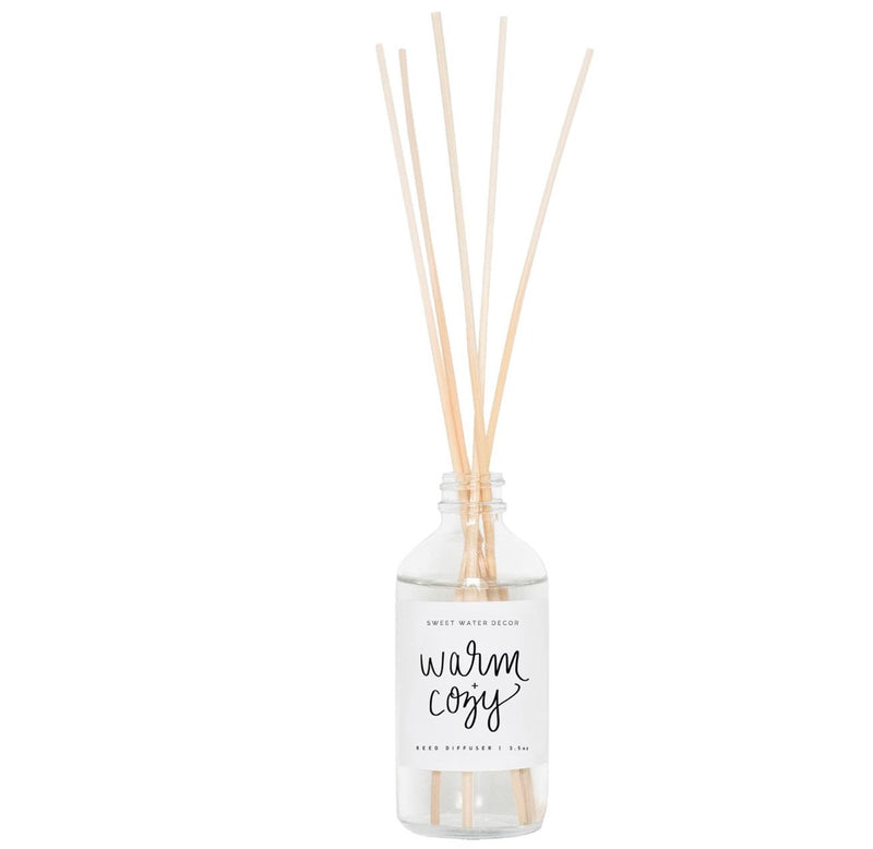 Warm & Cozy reed diffuser