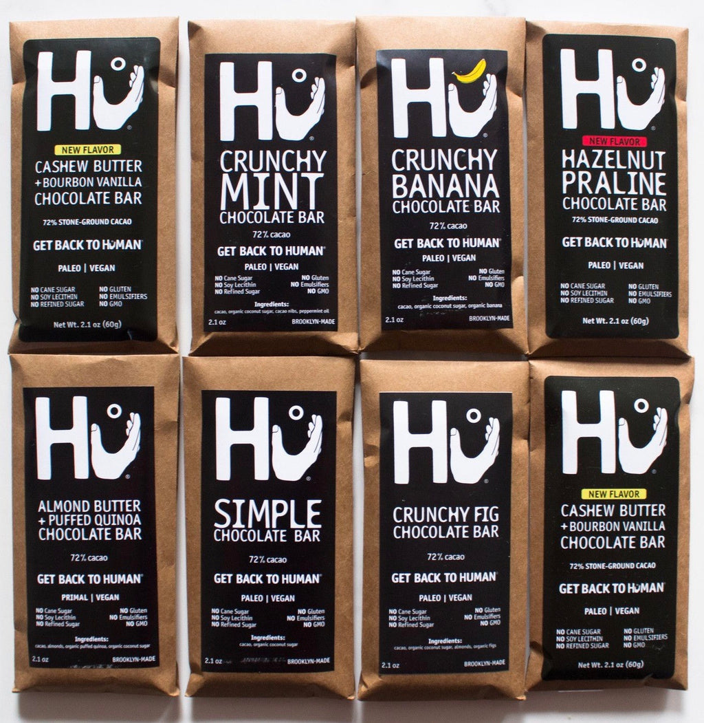 HU chocolate bars