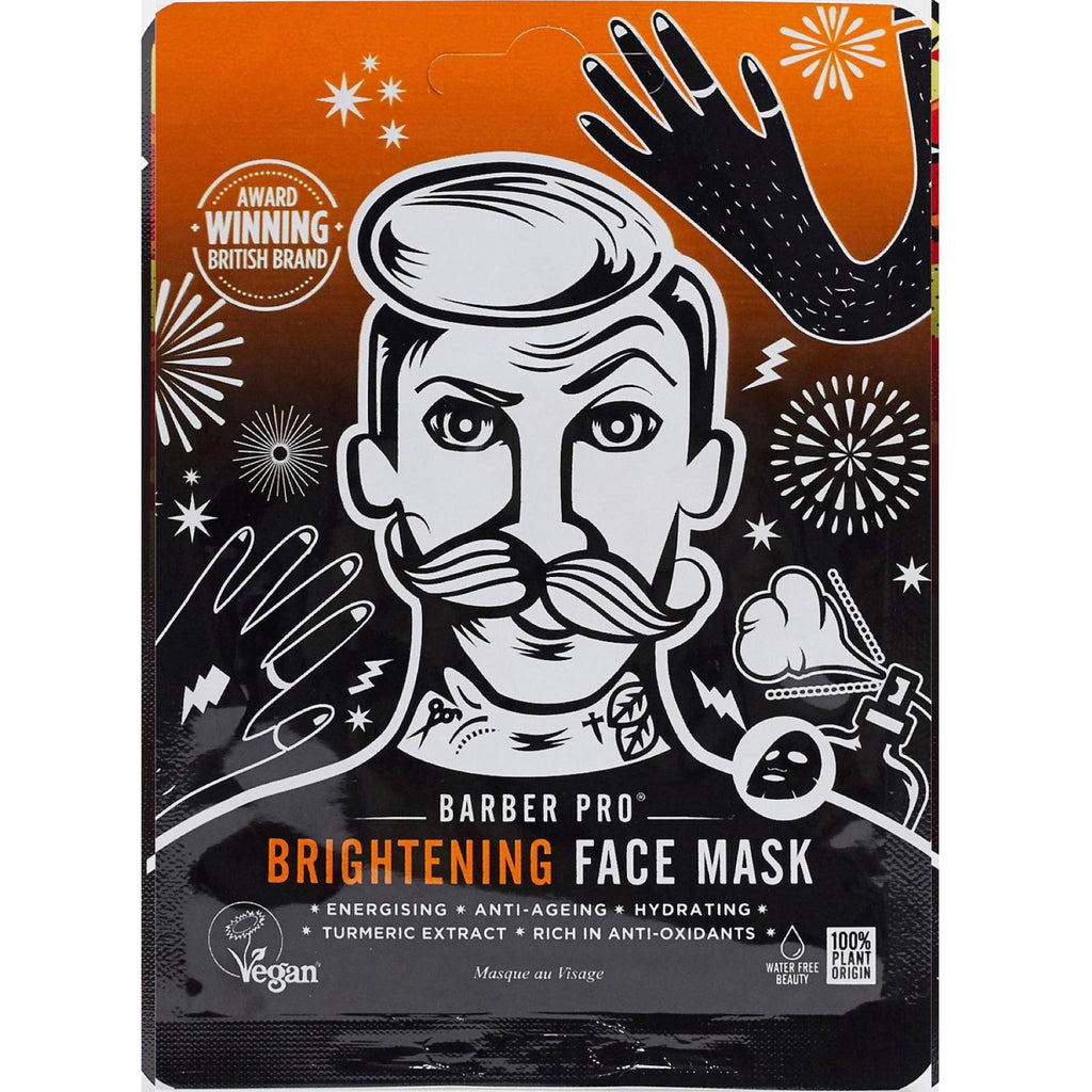 Brightening face mask: for guys