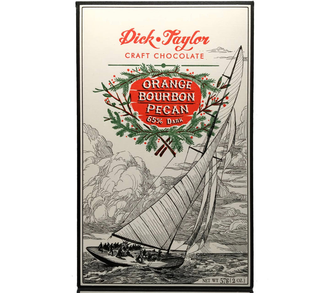 Dick Taylor Orange Bourbon Pecan Bar