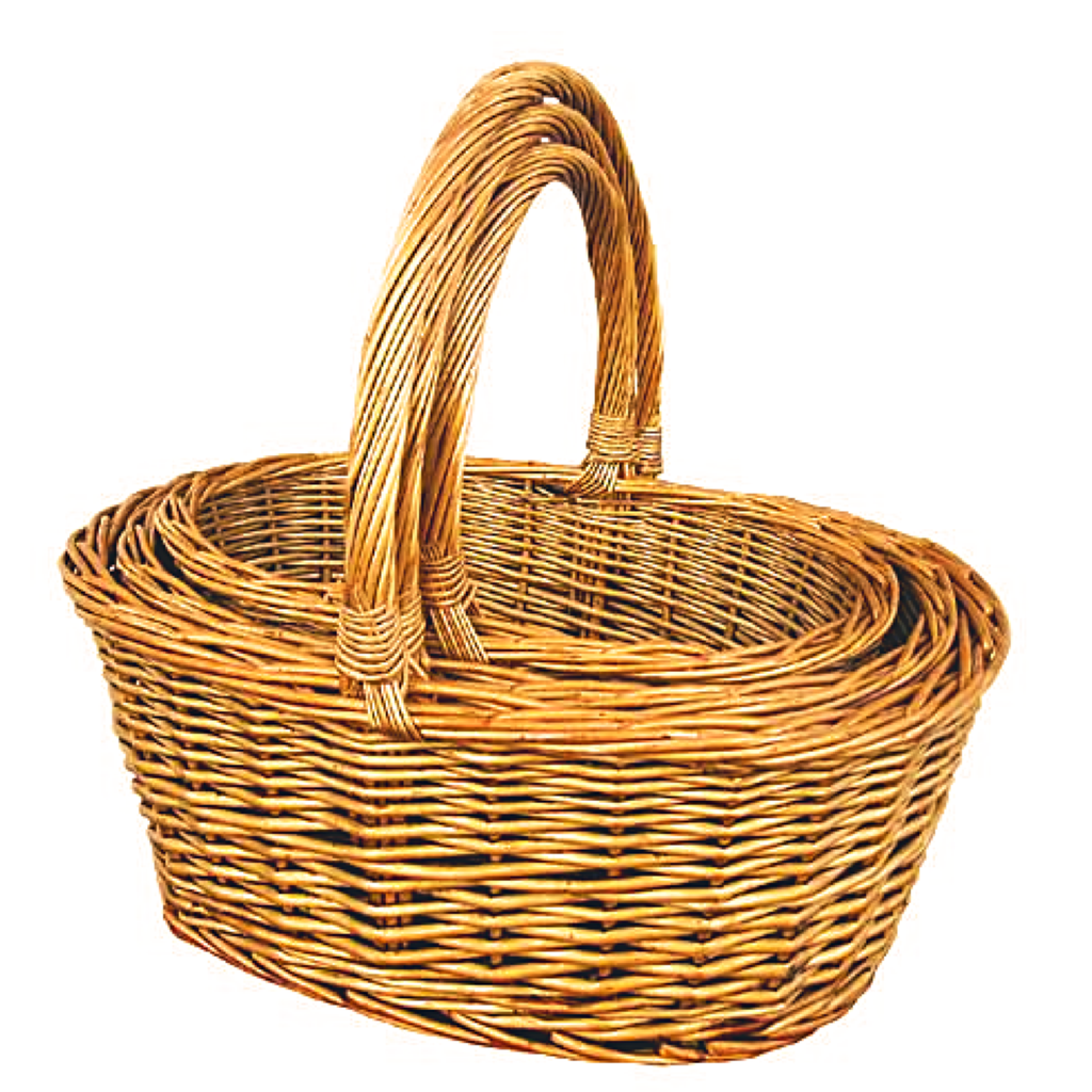 willow  Easter basket