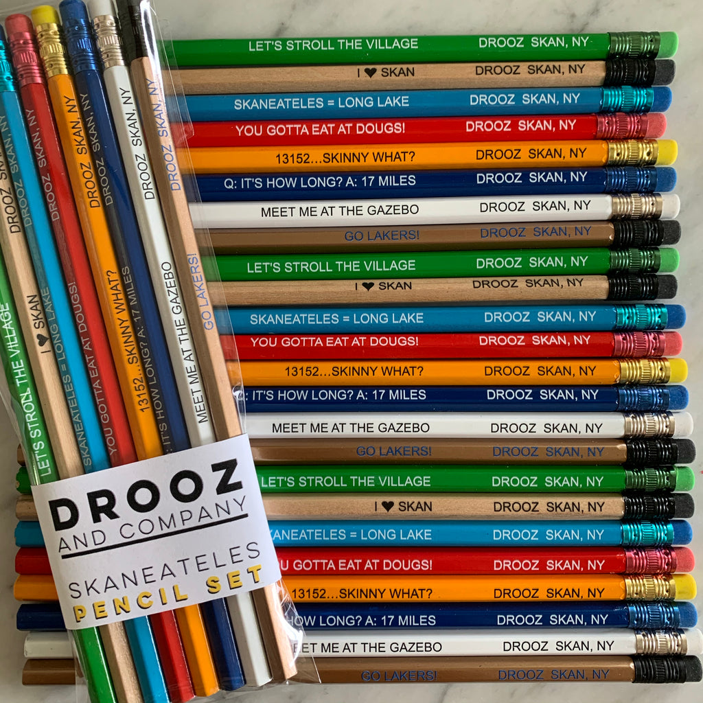 skaneateles PENCIL SET