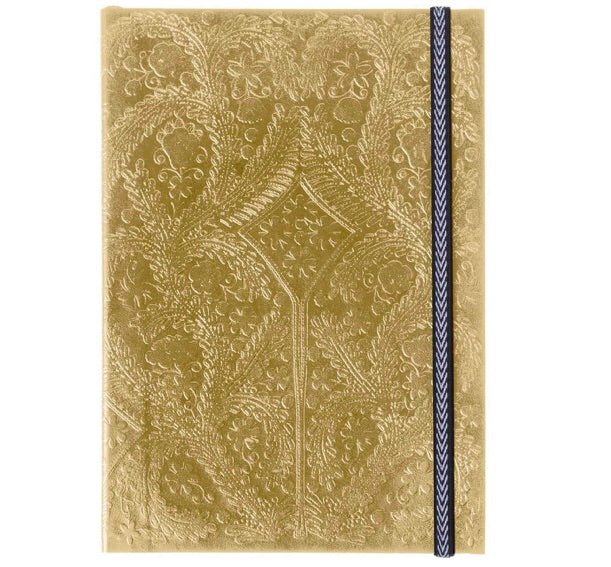Gold Embossed Paseo A5 Notebook