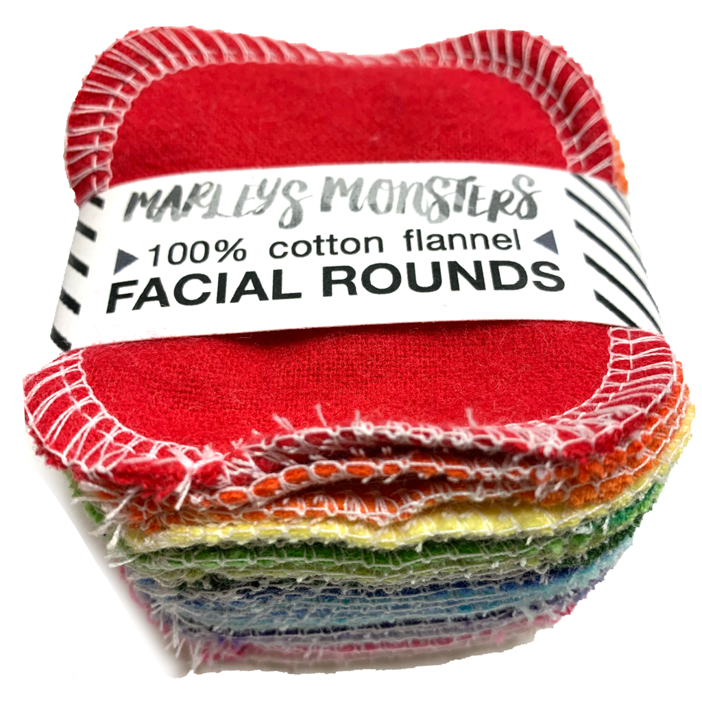 mixed brights: 20 FACIAL ROUNDS