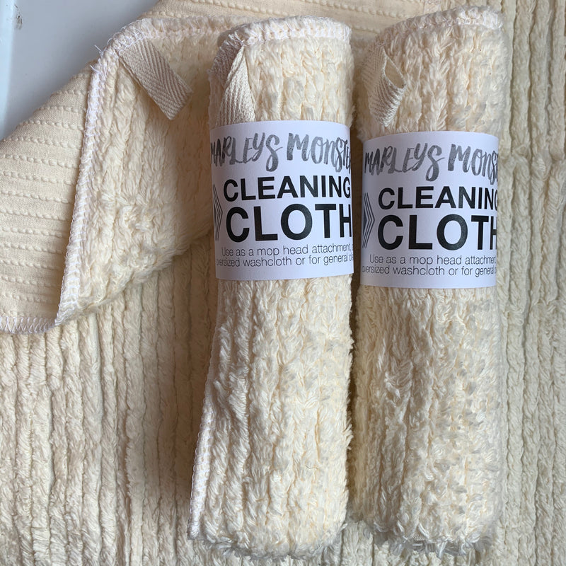 cleaning cloth : Cotton Chenille - Natural