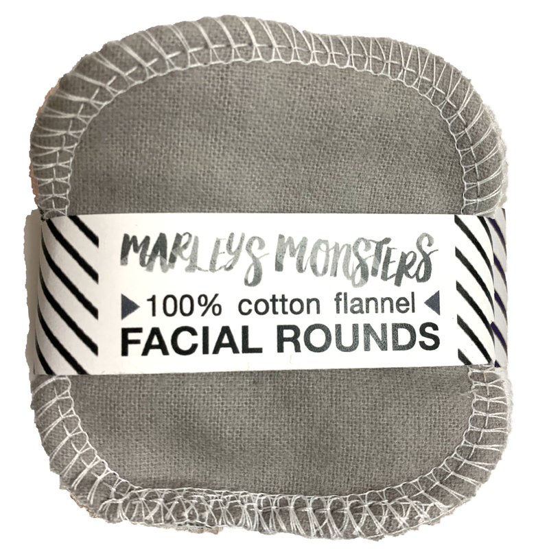 mixed greys: 20 FACIAL ROUNDS