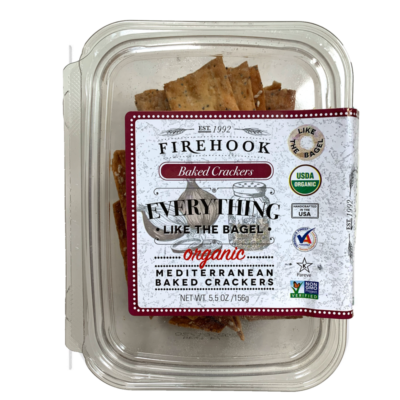 Everything Bagel: firehook crackers