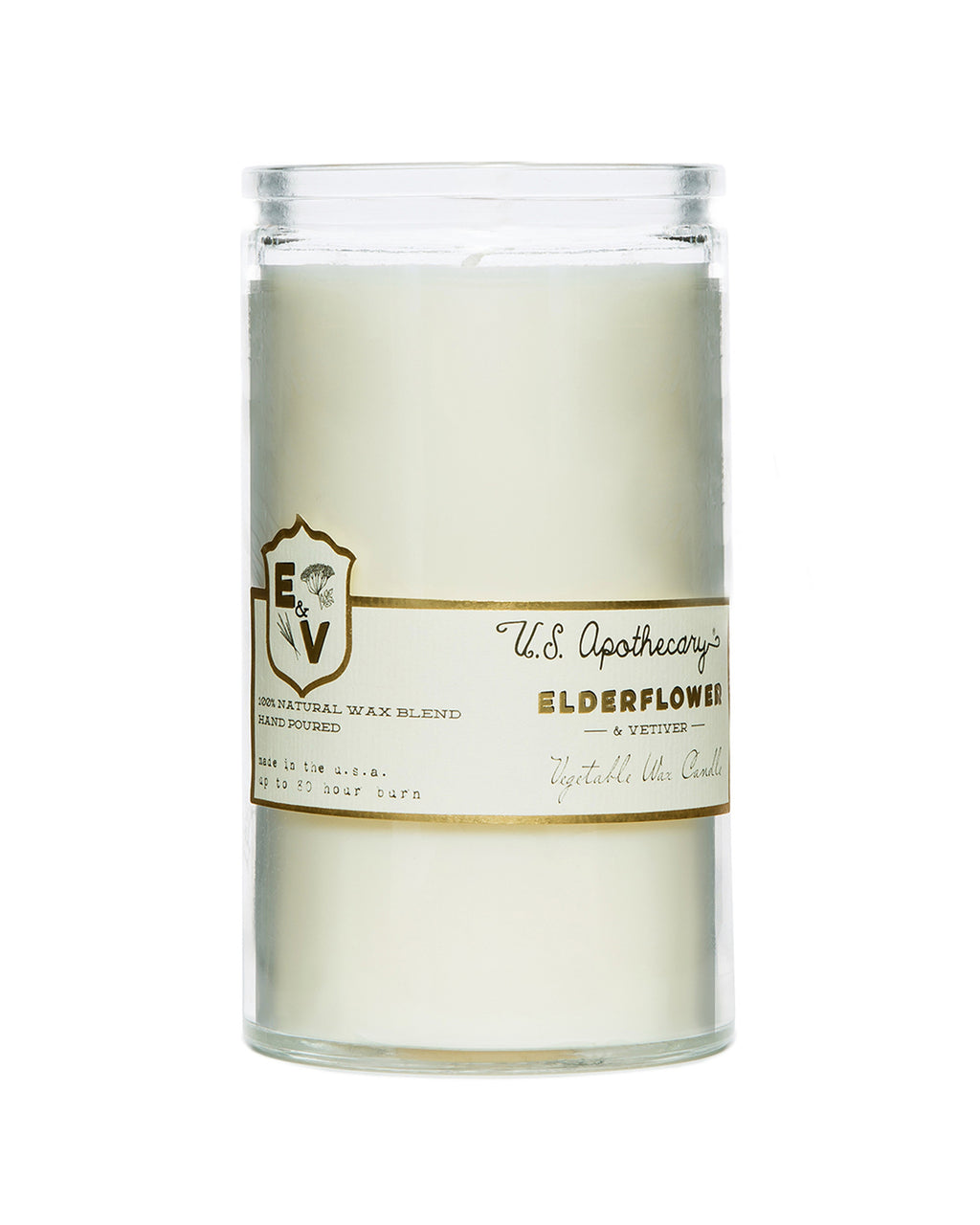 Elderflower & Vetiver candle