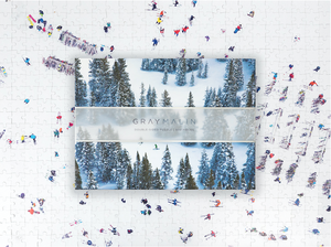 Gray Malin The Snow Two-Sided Puzzle