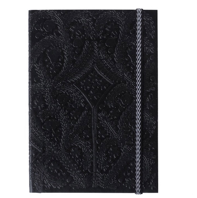 "Christian Lacroix Black A5 6"" X 8"" Paseo Notebook"