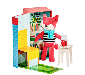 Petit Collage Frances The Fox Animal Play Set