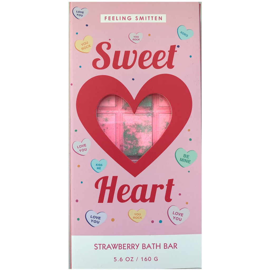 Valentines Day sweet heart bath bar