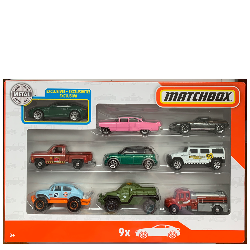 Set#1: Matchbox 9 Car Collector Gift Pack