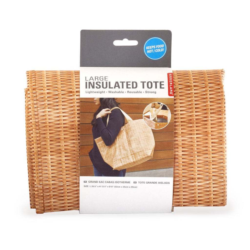 Large: Insulated tote