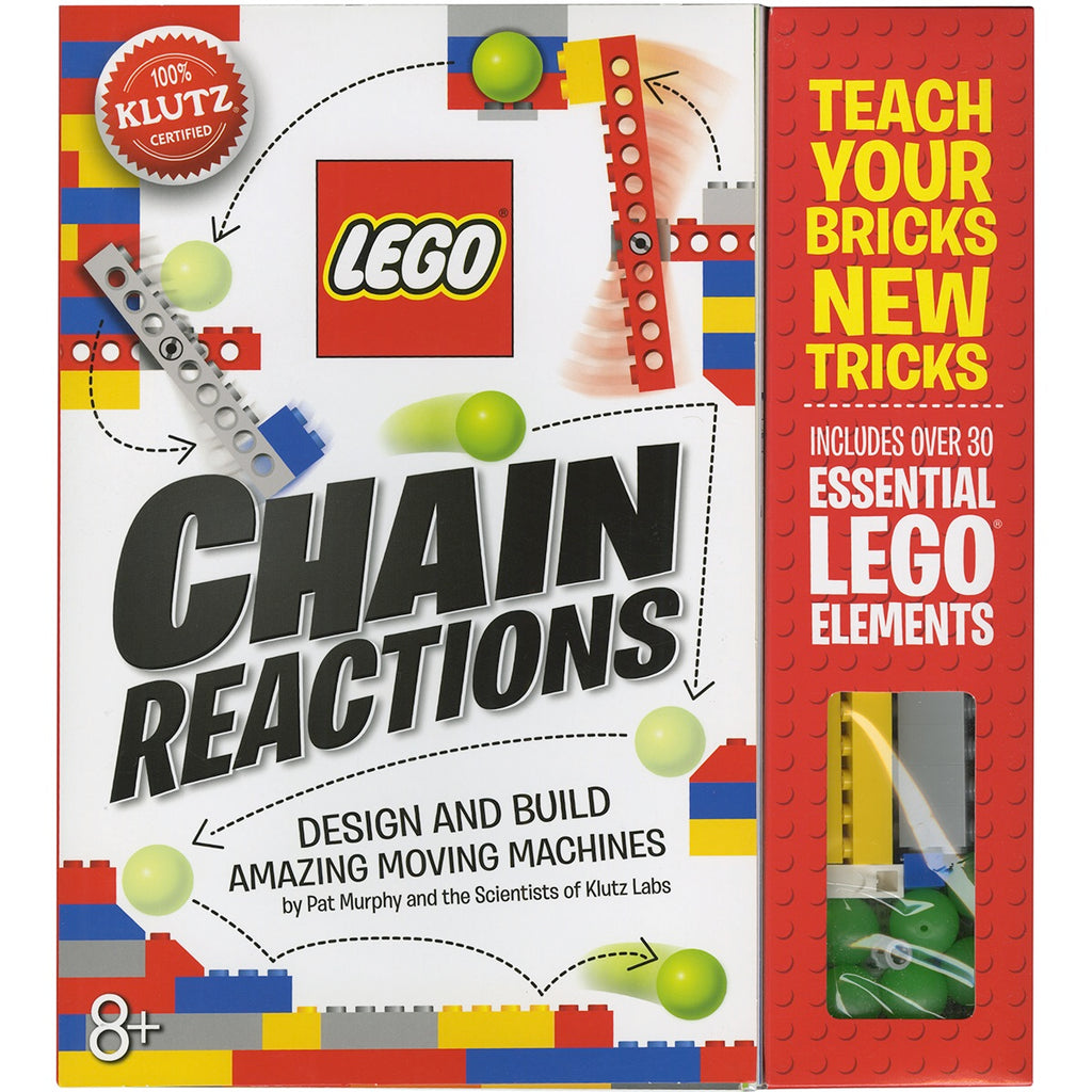 Lego chain reaction book kit